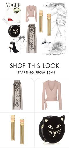 """""""metafora."""" by liliamarquez on Polyvore featuring moda, Temperley London, Etro, Lanvin, Charlotte Olympia, GUESS y Anja"""
