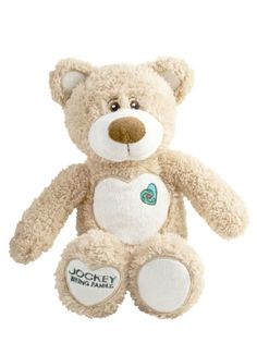 """During National Adoption Month, Jockey International is raising awareness, funding and support for post-adoption services via their """"Jockey Being Family"""" initiative. Three dollars from the sale of a plush teddy bear as well as 1% of sales from Jockey.com and the Jockey catalog will be directed to the company's nonprofit partners. At retail, customers are encouraged to donate $1 at the register for the cause."""