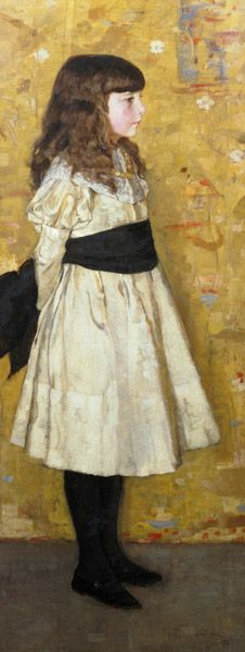 Margaret Helen Sowerby (known as Helen Sowerby) 1882 by Sir James Guthrie Illustration Photo, Sir Anthony, Paintings I Love, Vintage Paintings, Art Moderne, Art Uk, Online Collections, Art For Art Sake, Giovanni Boldini