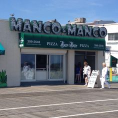 Mack & Manco is now Manco & Manco but still just as yummy. Ocean City, NJ
