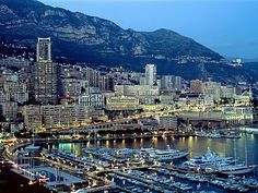 Monaco. So unbelievably beautiful there!