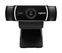 Logitech Pro - A brilliant all-round webcam, and great for streaming. Best Webcams for Working From Home and Streaming Logitech, Multiple Monitor Setup, Blue Microphones, Types Of Cameras, Desktop Accessories, Video Camera, Pro Camera, Cool Things To Buy, Stuff To Buy
