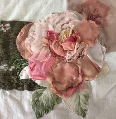 Peony Rose #lauraedgartextileart #contemporary #embroidery #stitch #workshops