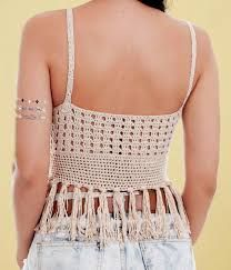 Image result for top cropped croche