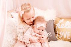 Lou Lou & Company Bows // #pinkbows #babygirl #babyheadband