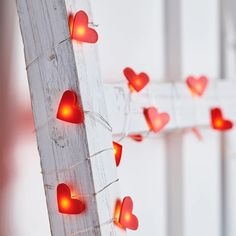 20 Heart Micro Fairy Lights Give your home a little love with our heart micro lights! Each of the 20