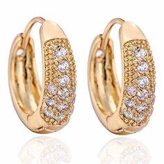 YAZILIND Elegant Inlay Round Clear Cubic Zirconia Small Hoop Earrings for Women Gift Idea YAZILIND http://www.amazon.co.uk/dp/B00JMB6NSG/ref=cm_sw_r_pi_dp_1SCqvb03Z89DG