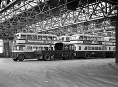 WMPTE Quinton Garage | Birmingham City Transport Quinton gar… | Flickr