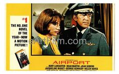March 5 1970 #Airport is released in the US. https://eartfilm.com/search?q=airport #Basedonthenovel #ArthurHailey #DeanMartin #BurtLancaster #movie #movies #poster #posters #film #cinema #movieposter #movieposters    Airport 1970 11x17 Original U.S Lobby Card
