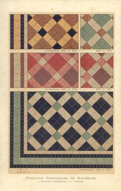 Ceramic tiles #pattern #plaid