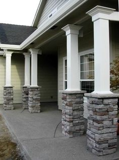 1000 Images About Porch Project On Pinterest Front Porches Craftsman Porc