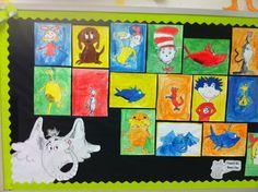 Apex Elementary Art Pop art Dr. Seuss