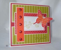 "Stampin up ""Butterfy Prints"""