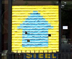 Post-it Notes Public Art by Candy Chang, I've Lived, Windows Brooklyn, Carroll Gardens results Interactive Installation, Installation Art, Art For Change, Post It Art, Carroll Gardens, Public Art, Public Spaces, Let's Create, Happy Heart