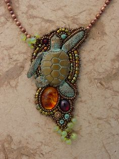 Beautiful bronze necklace by Heidi Kummli~have to have it