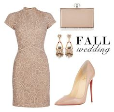 """""""Fall Wedding"""" by tania-alves ❤ liked on Polyvore featuring Raishma, Anton…"""