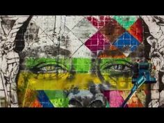 """Rio 2016™ Time Lapse """"Etnias"""" Boulevard Olímpico by Eduardo Kobra - YouTube. """"...the biggest graffitied wall"""" """"Now it looks like Kobra will snag a much-sought accolade for his hard work: a world record for the largest mural painted by one artist."""""""