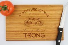 Personalized cutting board custom chopping board cheese by TreeX