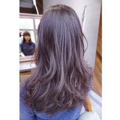 lavender ash + brown