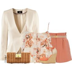 """""""Blazer and Shorts"""" by lbite1 on Polyvore"""