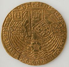 Coin with Rose Noble and Edward IV Date: 1461–83 Geography: Made in, England Culture: English Medium: Gold