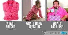What I look like...