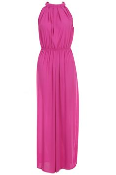 Off-Shoulder Rose Jumpsuit. Description Rose Jumpsuit, featuring round neckline, off-shoulder and high-rise elastic waist styling, buttoned keyhole closure, wide cut legs, loose and regular fit. Fabric Chiffon Washing Cool hand wash with similar colours, do not tumble dry. #Romwe