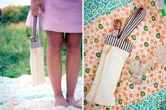 25 Unusual Ways To Repurpose Your Jeans via Brit + Co.