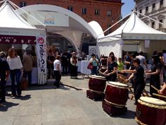 """20 Giugno: """"Ingrediente Parma"""", il centro di Parma si trasforma in un ristorante all'aperto dove gustare  i piatti dei grandi chef e anche i cibi tradizionali giapponesi."""