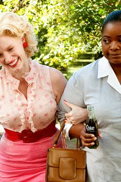 Celia Foote and Minny Jackson - The Help (2011)