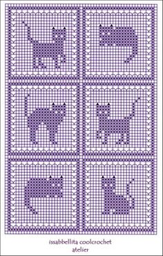 G Ordijn – Diy Crafts - Katzenrassen Beautiful Cats Cat Cross Stitches, Cross Stitch Kits, Cross Stitch Charts, Cross Stitch Designs, Cross Stitching, Cross Stitch Embroidery, Cross Stitch Patterns, Crochet Cat Pattern, Crochet Diagram
