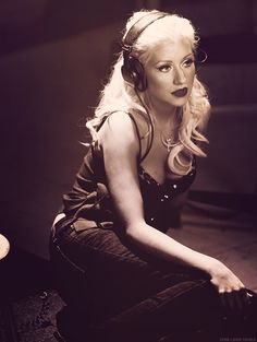 Christina Aguilera- writing and recording anything liker her is a dream of mine <3