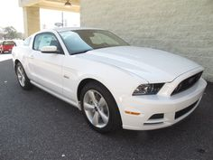 At Paramount Ford, New 2014 Ford Mustang GT Coupe, Oxford White, Climb into savings with our special pricing on this provocative Coupe*** This car sparkles!, $27,988, after rebates, Sold!