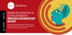 Memory and Consistency in Eliciting Information: When does (in)consistency matter