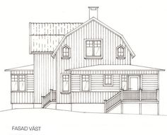 Swedish Style, Swedish House, Victorian Homes, Scandinavian Design, Old Houses, Home Interior Design, Beautiful Homes, Entrance, House Plans