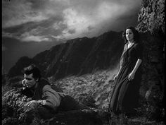 My favourite adaptation of Wuthering Heights dates back to 1939 directed by William Wyler and shot by GREGG TOLAND. The film is convincing  for the high quality of the actors (Merle Oberon as Cathy Linton, Laurence Olivier as Heathcliff and David Niven as Edgar Linton.) but also narrating only the first part of the book, thus better focusing on the central characters of Catherine and Heathcliff.