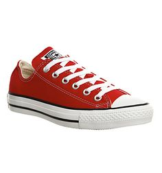 Converse All Star Low Red Canvas - Unisex Sports