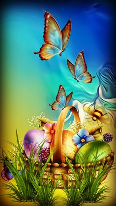 Schmetterlingsbilder - How Do We Know What Time It Really Is? Blue Butterfly Wallpaper, Rose Flower Wallpaper, Flower Background Wallpaper, Cute Wallpaper Backgrounds, Flower Backgrounds, Nature Wallpaper, Cute Wallpapers, View Wallpaper, Locked Wallpaper