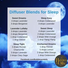 One of the most common things people use Essential oils for is SLEEP! I do! Here is some diffuser blends you can use at night time to help you get a blissful night sleep! They can also be used as roller blends when combined with fractionated coconut oil, contact us for info on how to purchase or a free 1 on 1 oil consultation!