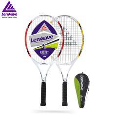 44.80$  Buy now - http://alip86.shopchina.info/1/go.php?t=32647463635 - Lenwave   Brand Women's Tennis Racket & Aluminum Carbon Fiber Tennis Racket /1 Piece Tennis Racket  #buymethat