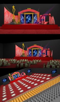 Event Stage Design on Behance