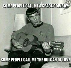 Spock sings