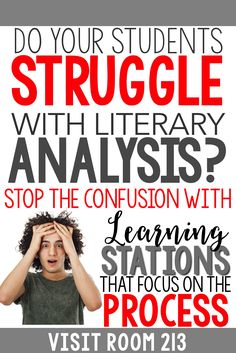 Teaching literary analysis? Are your lessons and activities not getting results?…