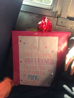 Cute way to ask a girl out