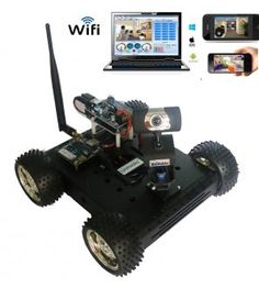 Arduino Wifi Robot Car Chassis Kits for Arduino Projects WiFi Robot Car Kit with DS Wifi Camera for Arduino Arduino Laser, Arduino Wifi, Arduino Programming, Arduino Sensors, Build Your Own Drone, Arduino Beginner, Simple Arduino Projects, Robotics Competition, Wifi Arduino
