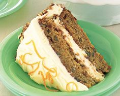 Honey Butter Carrot Cake With Toasted Pecans and Citrus Cream Cheese Icing