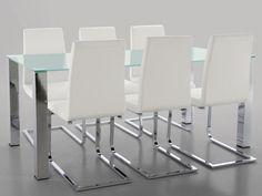 Stůl se skleněnou deskou Canton