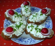 Cibulovo-česneková pomazánka :: Domací kuchařka - vyzkoušené recepty