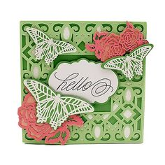 Anna Griffin® Elegant Embellishments 2 Cricut Cartridge