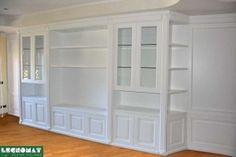 Libreria Classica bianca - Legnomat design italiano. Librerie su misura roma